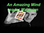 Famous Mind Reader Magician |Wedding Magician UK