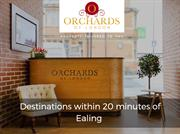 Destinations within 20 minutes of Ealing