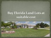 Buy Florida Land Lots