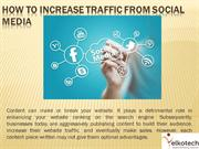 How To Increase Traffic From Social Media