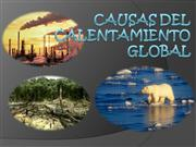 CAUSAS DEL CALENTAMIENTO GLOBAL