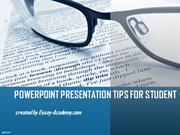 PowerPoint Presentation Tips for Student