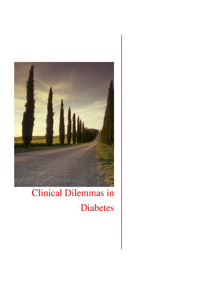 Diabetes ebookclinical dilemmas in diabetes authorstream fandeluxe Image collections