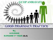 good pharmacy practices ahsan
