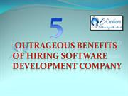 5 outrageous benefits of hiring software Development Company (2)