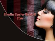 Effective home remedies tips for Beauty & Style