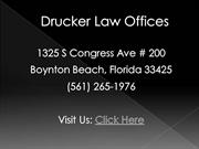 Boynton Beach FL Accident Attorney - Drucker Law Offices