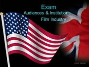Film industry introduction