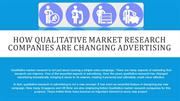 How Qualitative Market Research Companies are Changing Advertising