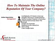 Soft System Solution - A Famed IT Company in New York