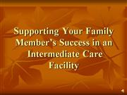Supporting Your Family Member's Success