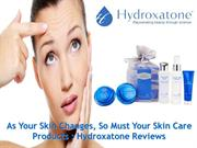 As Your Skin Changes, So Must Your Skin Care Products : Hydroxatone