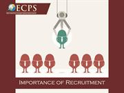 importance of recruitment