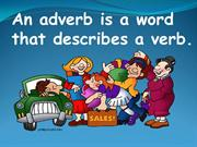 Adverbs Part 1