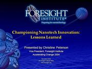Nanotech Innovation