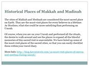 Historical Places of Makkah and Madinah