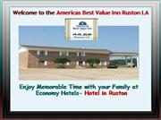 Americas Best Value Inn Ruston la