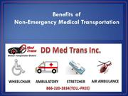 Benefits of Non-Emergency Medical Transportation