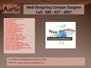 Website designing company India, Website designing company in Gurgaon