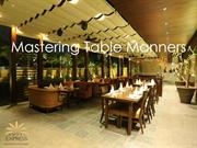 Table Manners Guide by Hotel Express