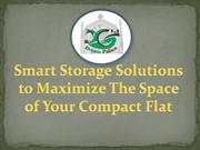 How to Maximize The Space of Your Compact Flat