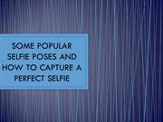 Some Popular Selfie Poses And How To Capture A Perfect Selfie