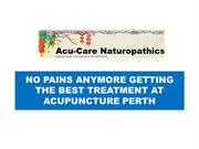 No pains anymore getting the best treatment at acupuncture Perth