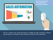 Boost Your Business by Finding Right Sales Automation Software