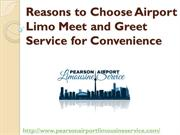 Reasons to Choose Airport Limo Meet and Greet Service for Convenience
