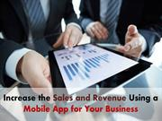 Know how Mobile App for Business can improve your Sales and revenue