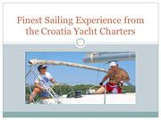 Finest Sailing Experience from the Croatia Yacht Charters