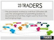 Story of 23traders Success and 23traders Services