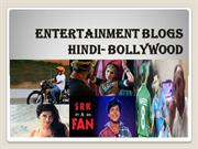 Entertainment Blogs, Blogs In Hindi