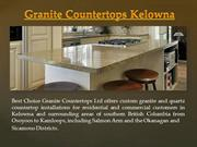 Granite Countertops Kelowna