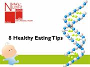 8 Healthy Eating Tips