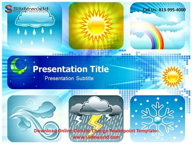 online climate change power point template authorstream