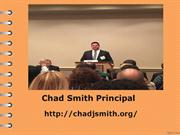Chad Smith Principal | Slides, Text and Images