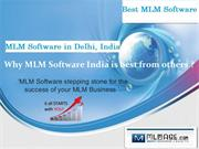 Why MLM software India is best from others ?