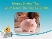 Money Saving Tips | Laura Dean Financial Solutions