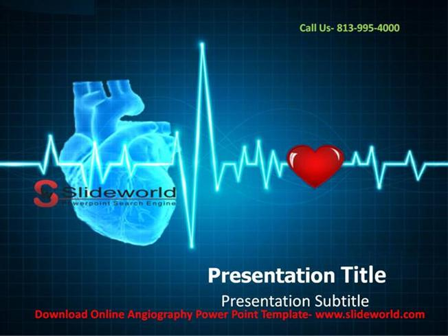 download online angiography powerpoint template authorstream