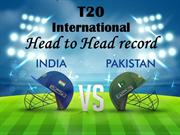 India-Pakistan Cricket T20, Head to Head