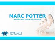 Marc Potter an Expert Yoga Instructor
