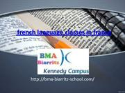 french language classes in france