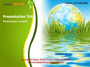 Download Green Globe Powerpoint Template