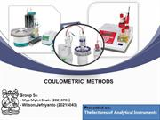 Coulometric methods