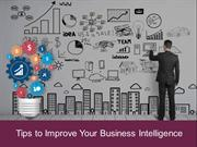 Tips to Improve Your Business Intelligence with Microsoft BI platform
