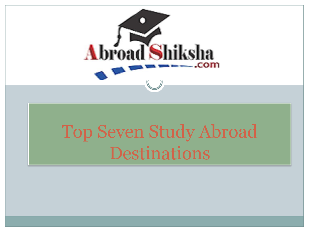 Study Abroad Consultants, Study Abroad Program ,Study in UK