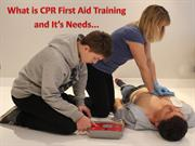 What is CPR first aid training and it's Needs...