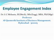 Employee Engagement Index_GCM