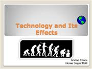 Technology and its Effects